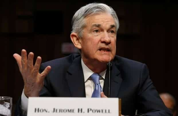 Fed Chairman Jerome Powell Talking