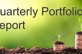 Quarterly Portfolio Report - Growing Stack Of Coins