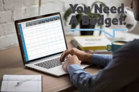 Managing Budget With YNAB On A Laptop