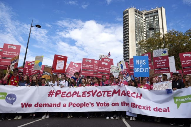 March Against The Brexit