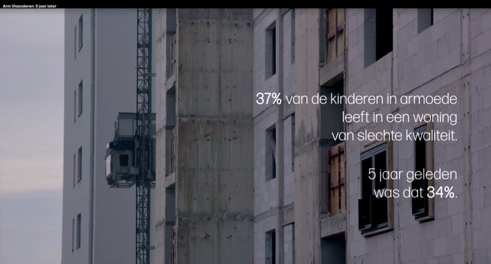 Poor Flanders: 37% live in a poor quality home