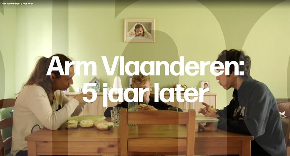 "The documentary ""Arm Vlaanderen: 5 jaar later"""