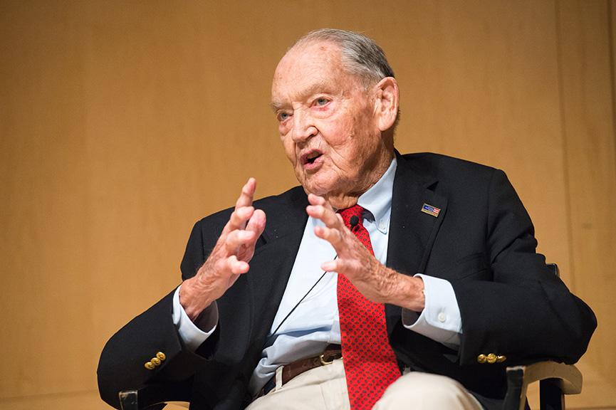 John C. Bogle in 2016