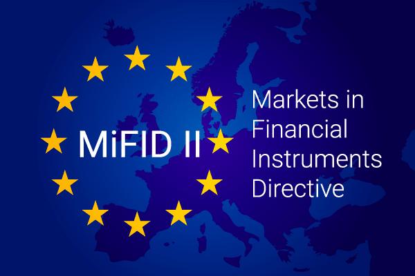 MIFID II directive - Markets in Financial Instruments Directive