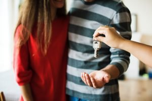 Receiving the keys to our own home