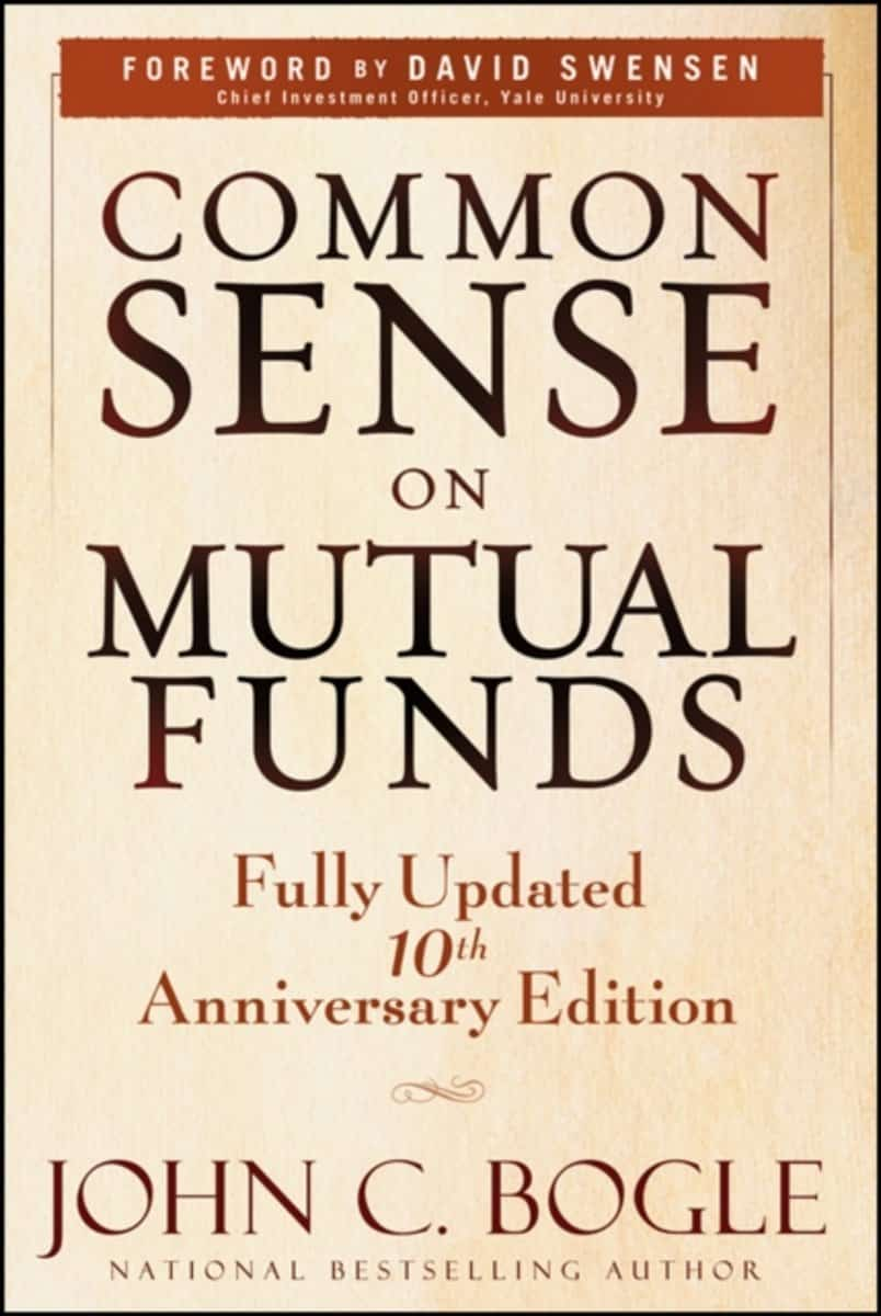Front Cover Of The Book Common Sense On Mutual Funds
