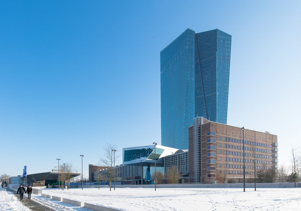 ECB Headquarters In Frankfurt