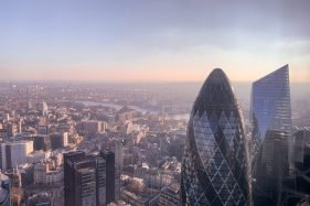 Panoramic View Of London