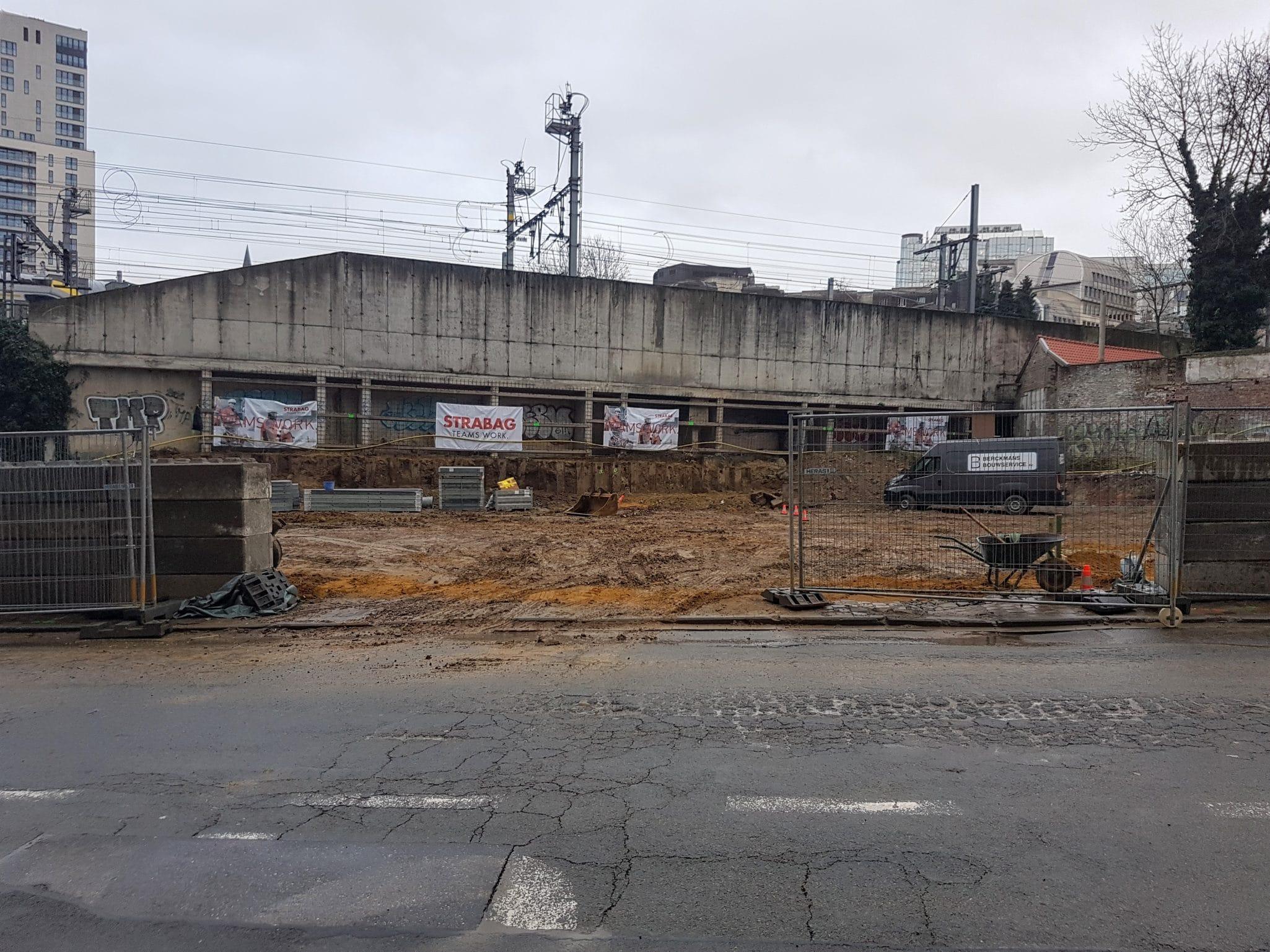 Construction under way!
