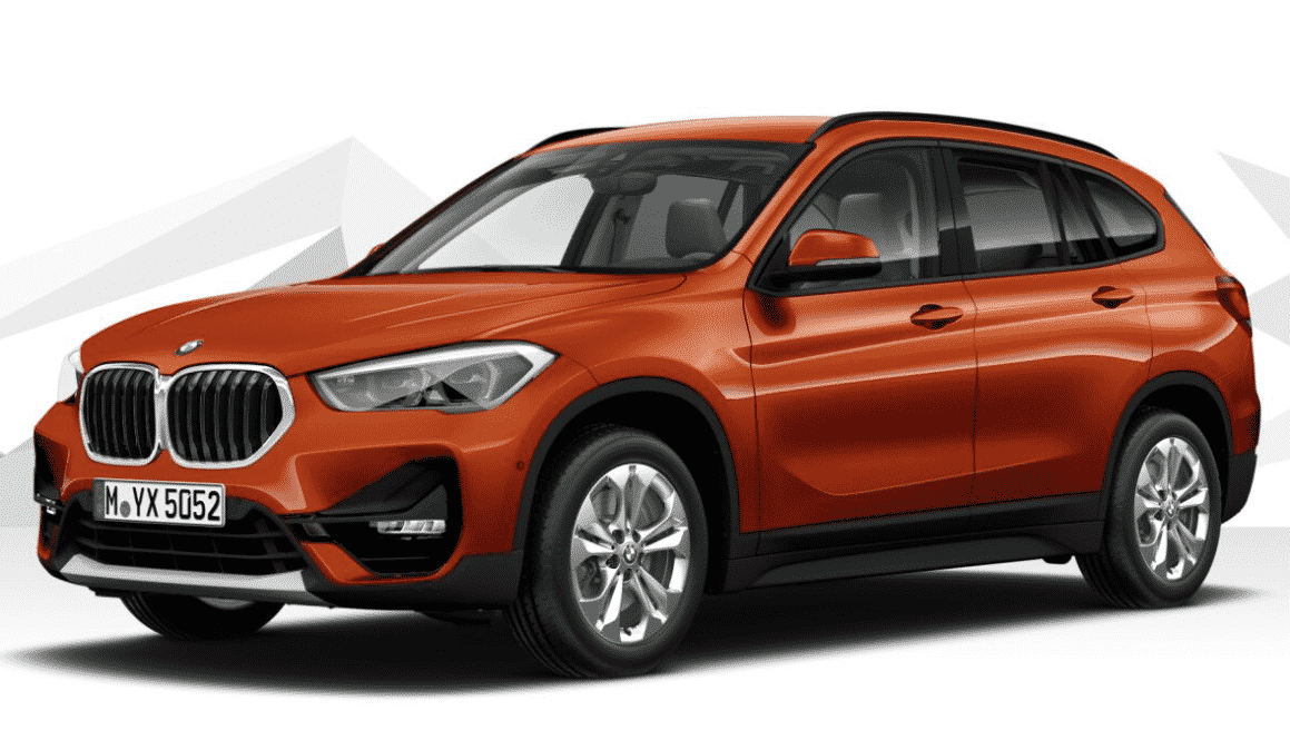 My company lease: a BMW X1 18i sdrive