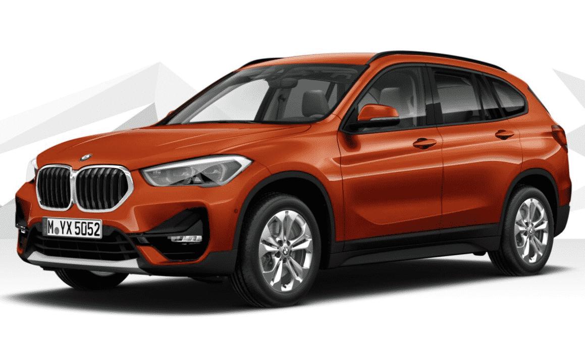 My company lease: a BMW X1 18i sdrive