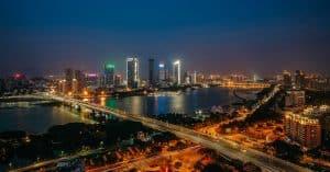 Fuzhou Cityscape