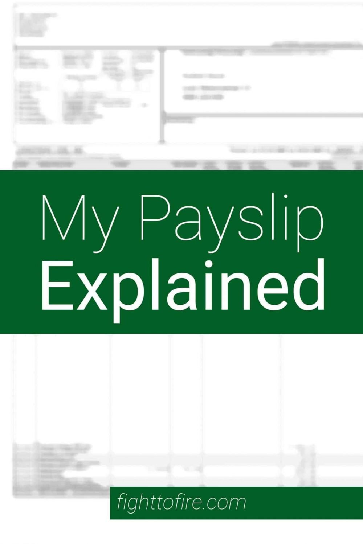 My Beligan Payslip Explained