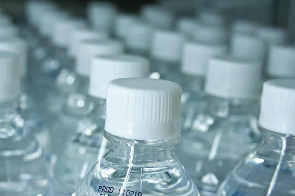 Bottled water production
