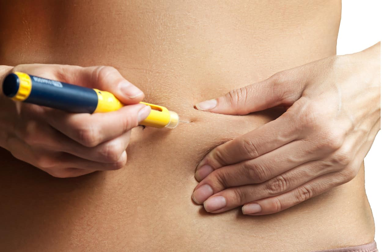 Fertility Injection In The Stomach