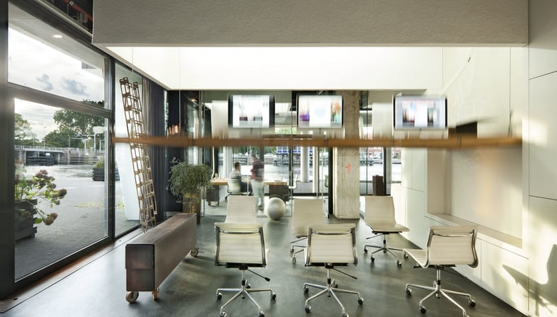 The modern multipurpose office space