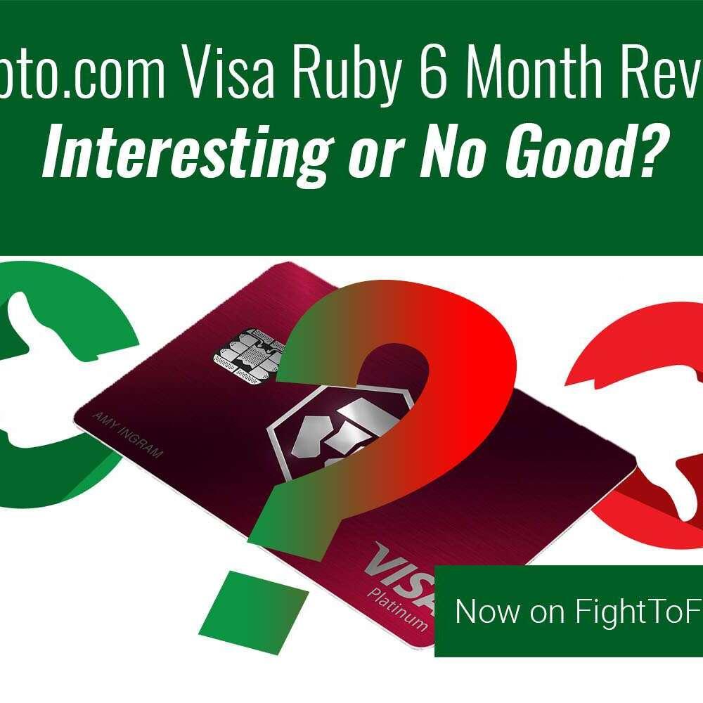 Crypto.com Ruby Steel Visa Review